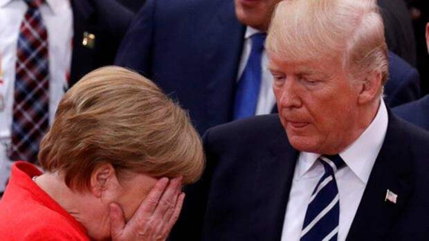 Диалога не будет: Меркель и Трамп рассорились, но за все приходится расплачиваться России