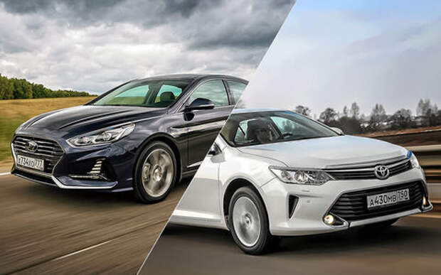 Hyundai Sonata или Toyota Camry - выбор ЗР