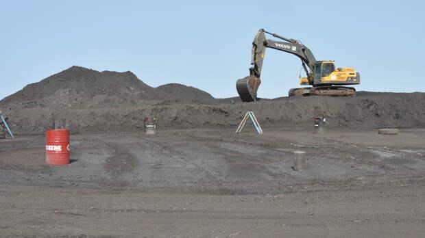 Изгорода вРостовской области вывозят дорогостоящий угольный шлам