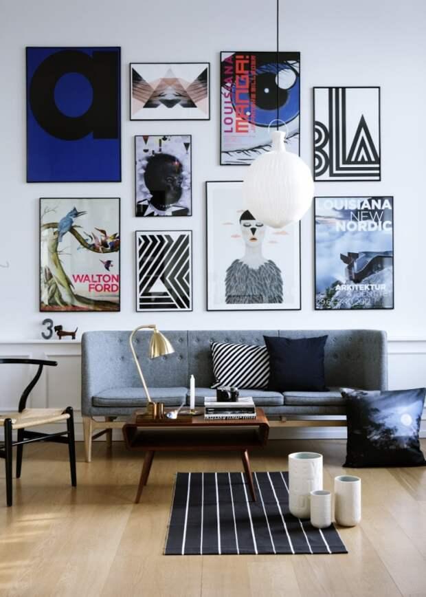 Постеры и картины для интерьера: выбираем лучшее (28 фото)