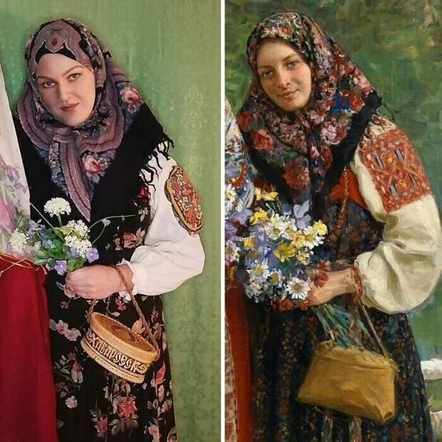 """5. Иван Куликов """"Полевые цветы"""" (1913)"""