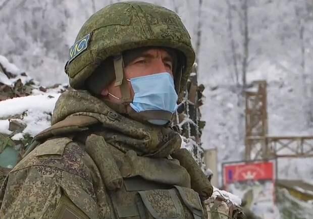 В Ереване сообщили о выходе армянских военных из окружения при помощи российских миротворцев