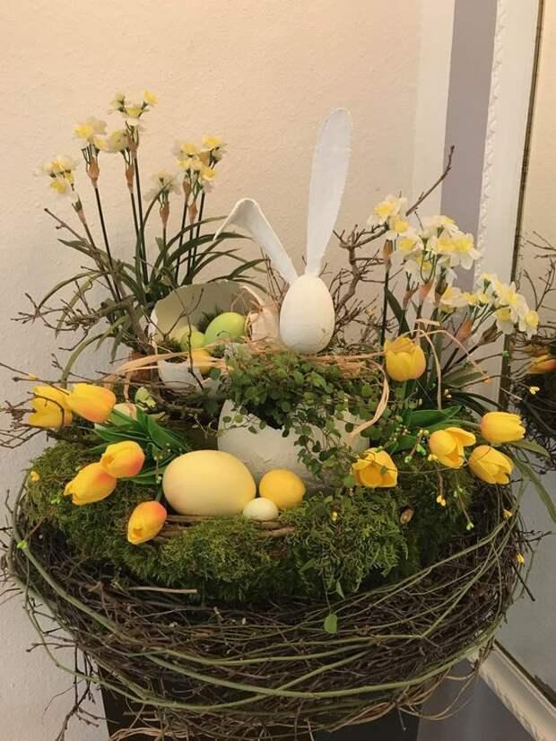 Готовимся к Пасхе: оригинальный праздничный декор