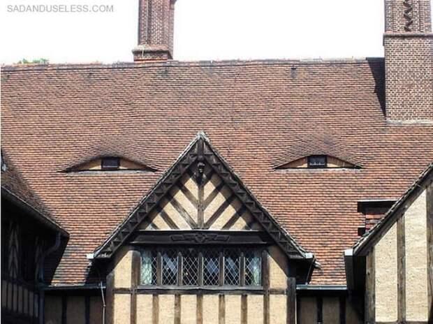 4. Мне не нравится, как этот дом смотрит на меня парейдолия, сходство