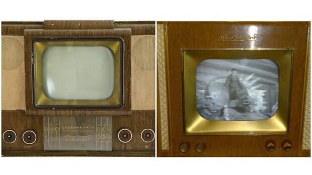 Первые телевизоры транслировали только один канал. / Фото: dvostok.com