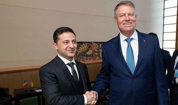 Зеленский призвал главу Румынии поддержать вступление Украины вЕС