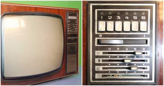 На полупроводниковых моделях переключателем служил СВП кнопочный / Фото: dvostok.com
