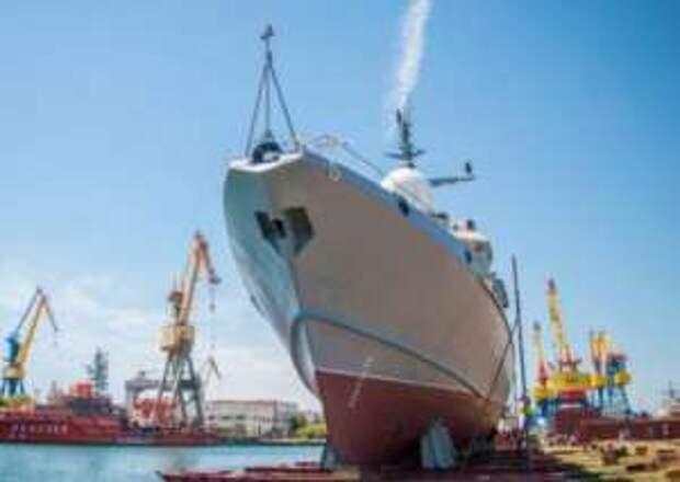 Керчь: новый корабль с «Калибрами» для ВМФ России