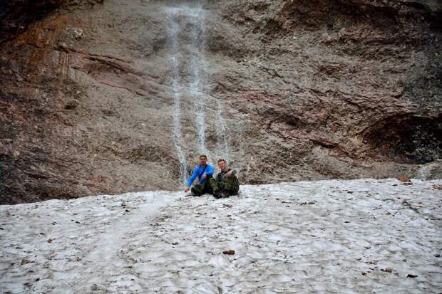На Малом Фиштинском леднике