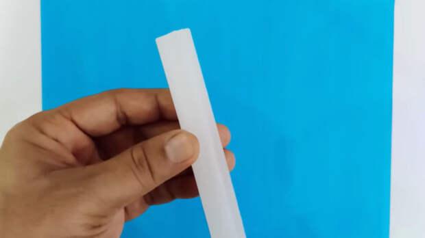 Интересный и красивый способ использования простой восковой свечи