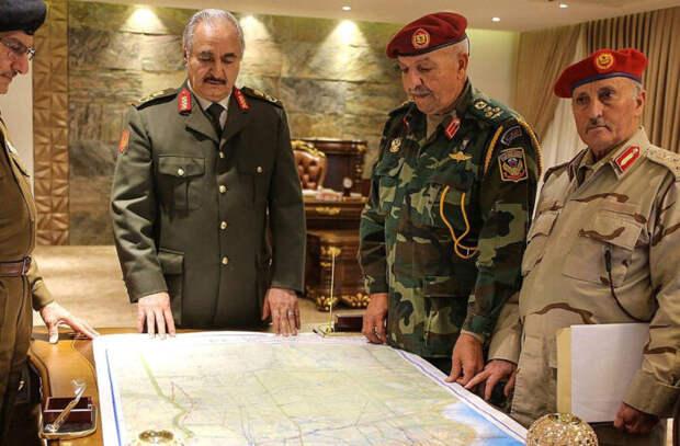 Маршал Хафтар покинул пост командующего Ливийской национальной армией