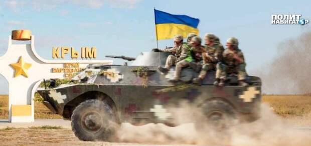 Украинский депутат: даже «упоротые» радикалы понимают, что никакого «освободительного похода» в Крым не будет