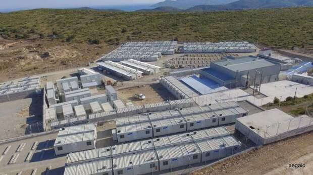 Для кого греки строят на Самосе концентрационный лагерь?