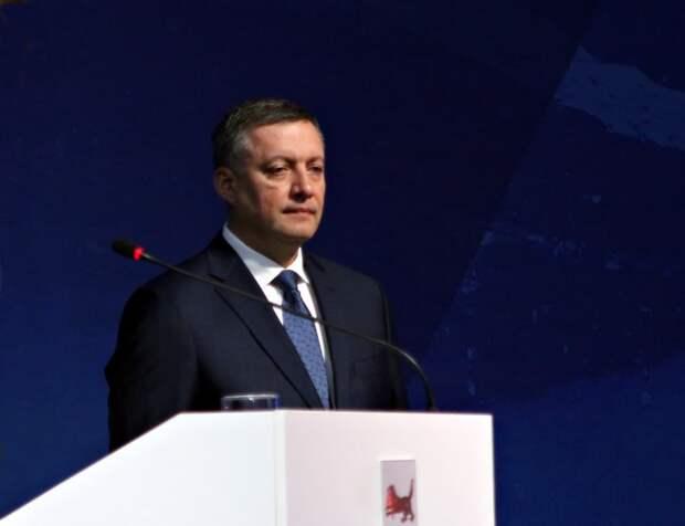 Губернатор Иркутской области Игорь Кобзев заработал за 2020 год 7,7 миллиона рублей