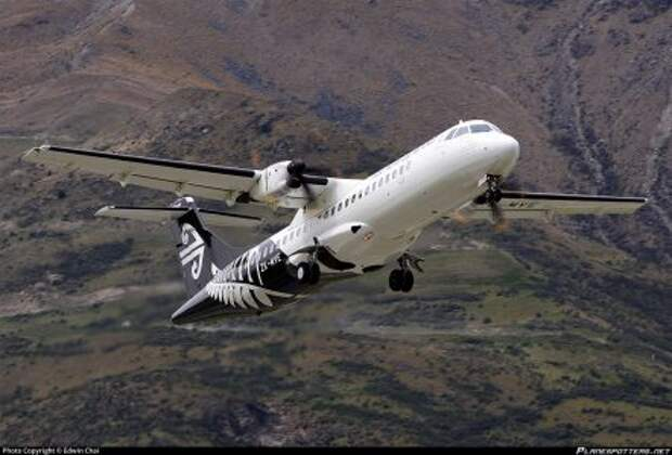 ATR 72-600 авиакомпании Mount Cook Airline