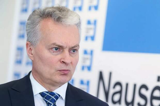 Науседа, президент Литвы.png