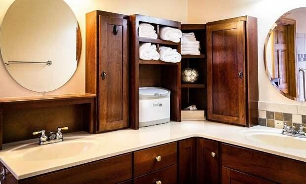 Мебель для ванной комнаты: как и что подбирать?