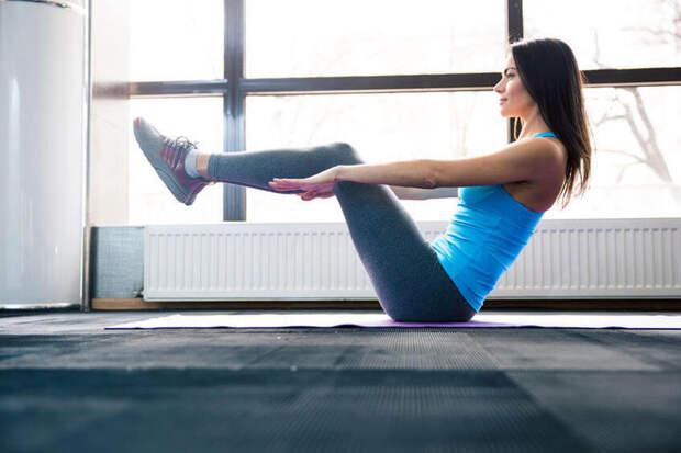 6 упражнений, которые помогут убрать жир с живота