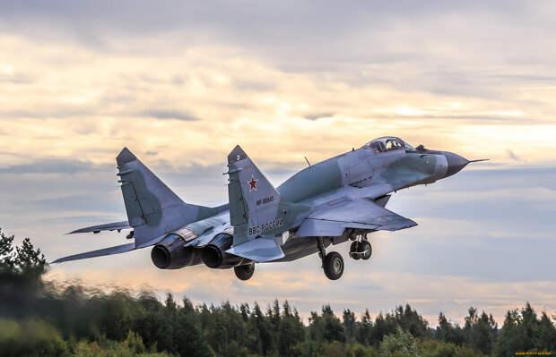 Сирийские ВВС получили от России новые истребители МиГ-29
