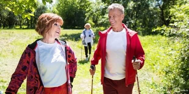 Пенсионеры Левобережного укрепляют здоровье в ЗОЖ-игре