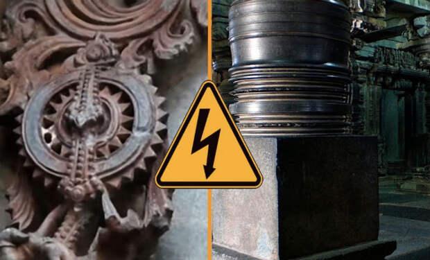 Машинные технологии древней Индии: Храм Хосайлешвара