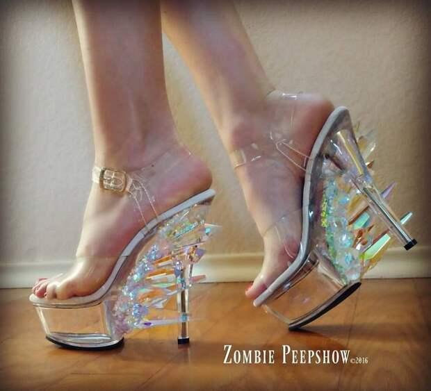 Обувь Zombie Pipshow решится обуть далеко не каждая модница