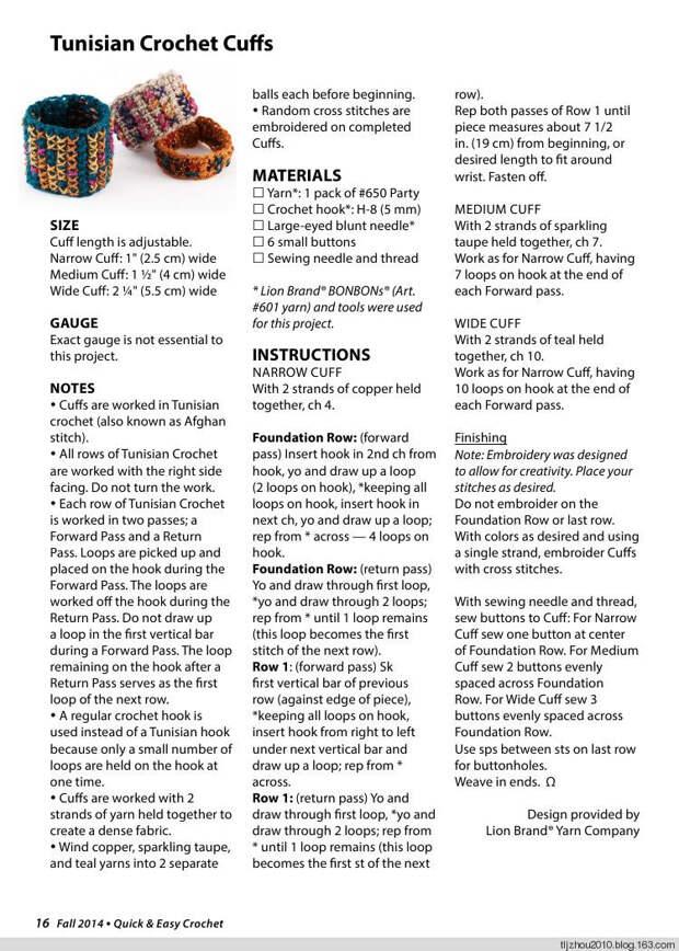 Quick  Easy Crochet 2014 - 紫苏 - 紫苏的博客