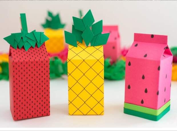 Упаковка подарков своими руками шаблоны фруктовых пакетов