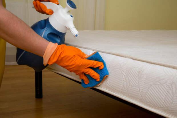 Средство с простым составом поможет убить бактерии в матрасе. /Фото: nastroy.net
