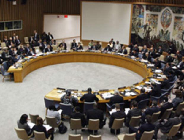 СБ ООН снова не смог договориться по поводу конфликта Израиля и Палестины