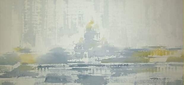 художник Константин Кузема акварель картины - 17