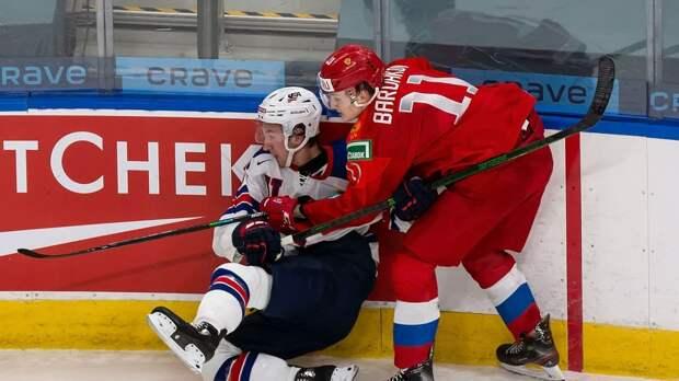Молодежка: Российская сборная раскатала США на льду