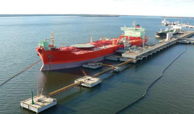 На7% потоннажу увеличился экспорт нефтепродуктов изРоссии в2019 году