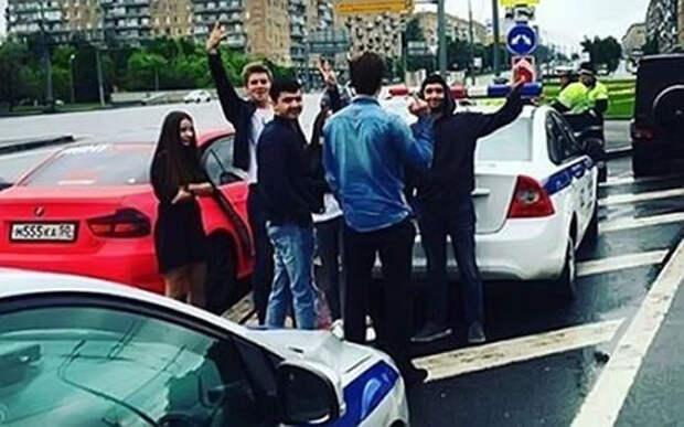 В Москве случайно задержали участника «гонки на Гелендвагене»
