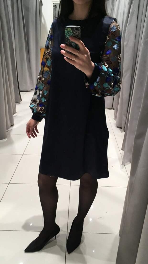 Женственной платье, в котором нельзя остаться незамеченной.  /Фото автора