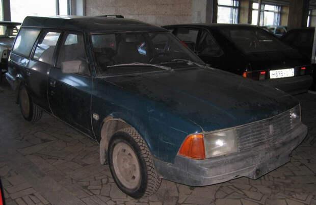 История универсалов АЗЛК-2141: от югославского до московских экземпляров