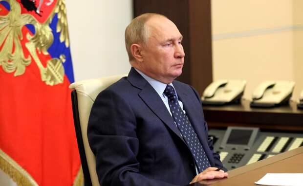 Путин назвал главного врага российского общества