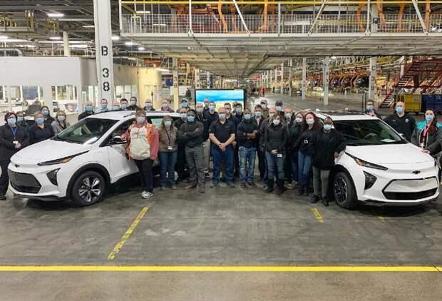 General Motors запустила переобучение сотрудников для перехода навыпуск электрокаров