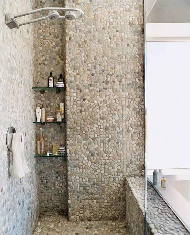 Для ванной - прелестно! Фабрика идей, дизайн, дом, интерьер, камни, красота