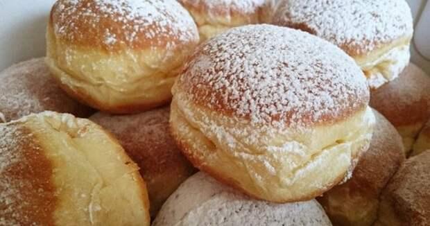 Берлинские пончики (Берлинеры)