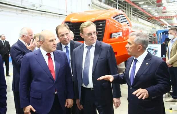 Мишустин оценил инновационные ипроизводственные проекты КАМАЗа