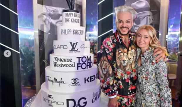 Киркорову подарили кулич в виде сумки Louis Vuitton, икону, бриллианты и золотой сейф