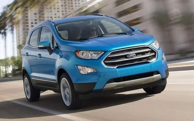 Обновленному паркетнику Ford EcoSport прикрутили планшет