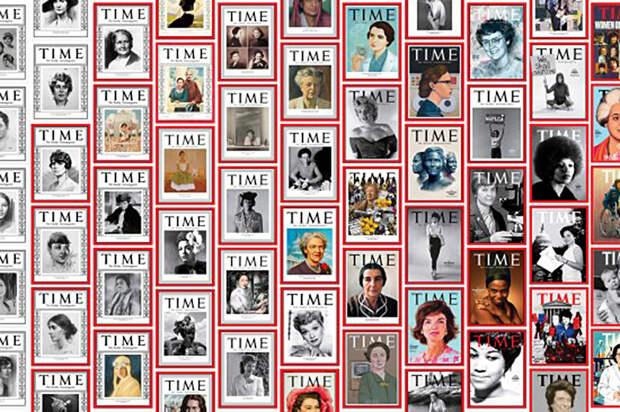 Журнал Time поместил на обложки сто великих женщин