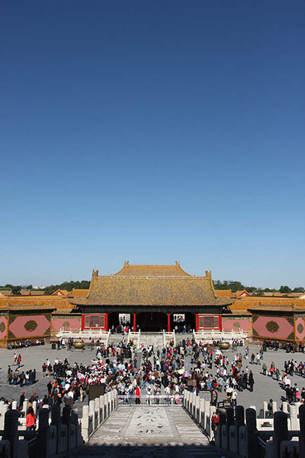 """""""Запретный город"""". Пекин. Китай."""