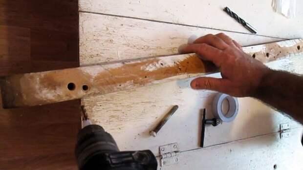 Как сверлить большие отверстия тонкими сверлами
