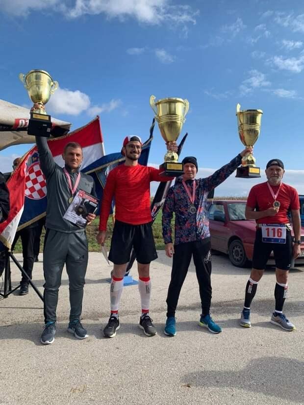 Спортсмен из Сарапула стал серебряным призером международного ультрамарафона