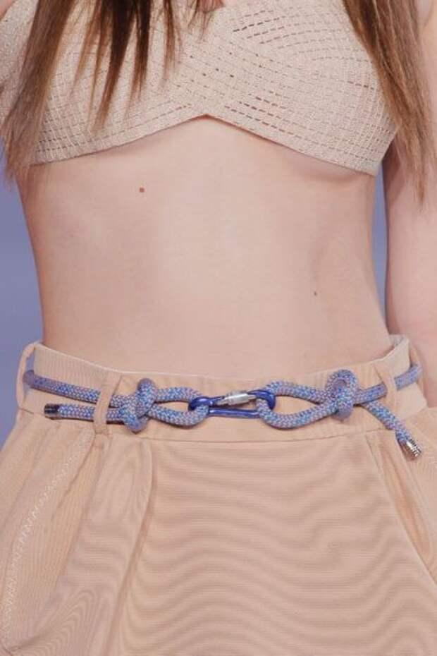 Ремни и пояса...из веревок (подборка)