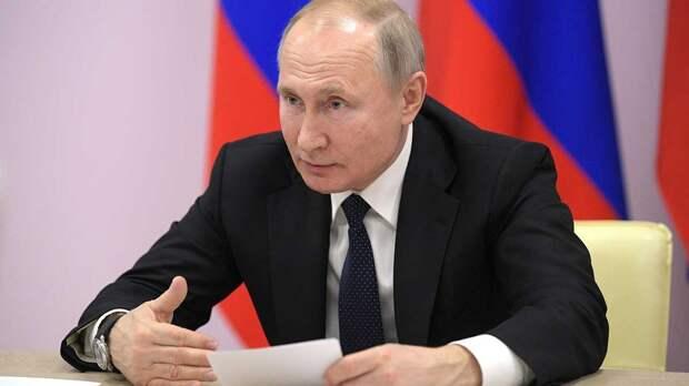 Путин оценил, как удлиненные майские выходные повлияли на здоровье россиян