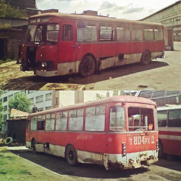 Не все из них, дожили до наших дней автобусы, воспоминания, детство, ностальгия